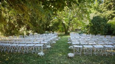 Jardin et espace cérémonie