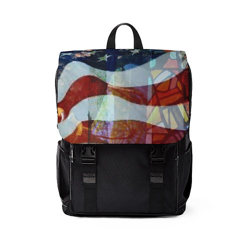 Collectible Art Unisex Casual Shoulder Backpack