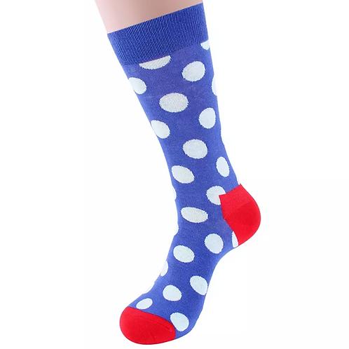 Royal Blue Polka Dot