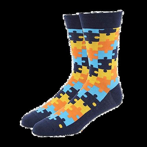 Blue Puzzle (Autism Logo)