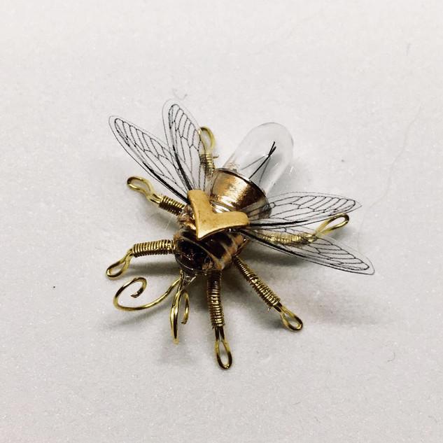 Tiny Mason Bee Pin