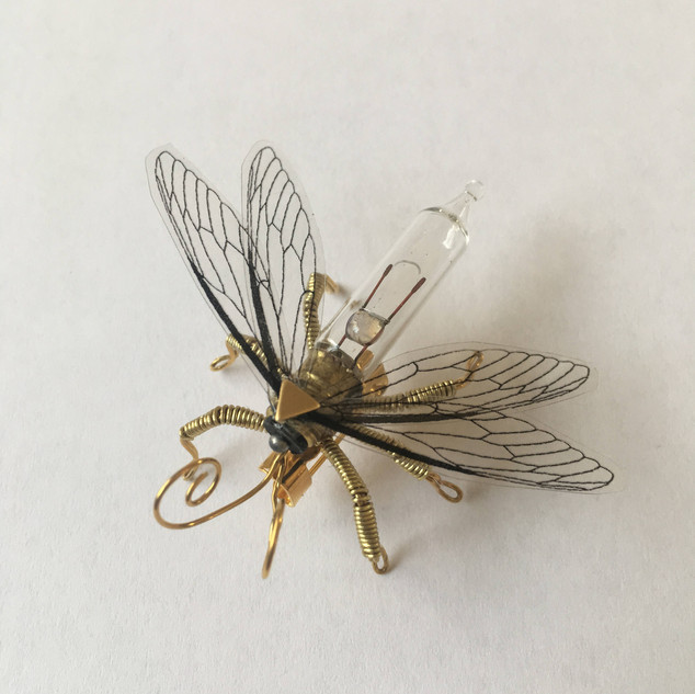 Mayfly Brooch