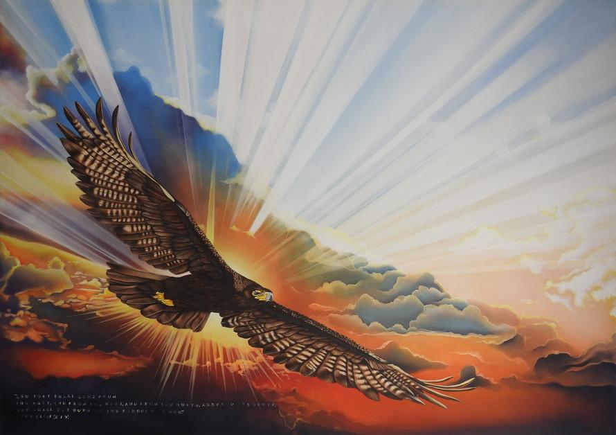 Black Eagle Sunset