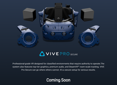 New VIVE headset coming soon!