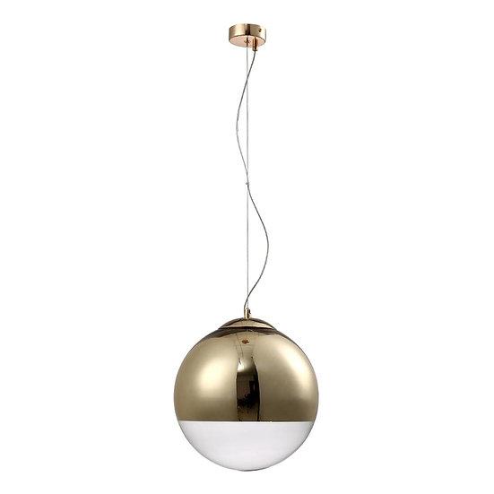 Подвесной светильник Crystal Lux Helado SP1 D300 Gold