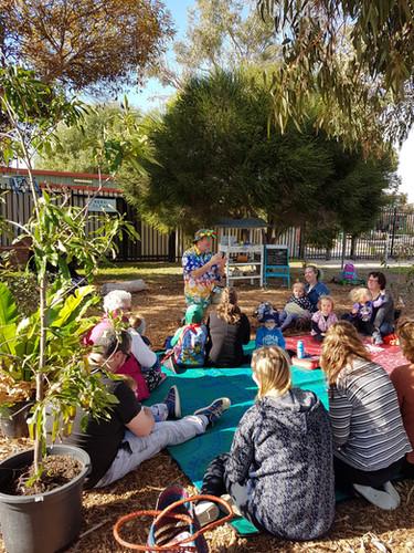 Stories in the Garden @ The Giving Garden, Aldinga Beach