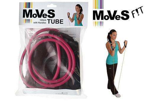 MoVeS F!T-Band GLOBAL Tube | 120cm | Handles