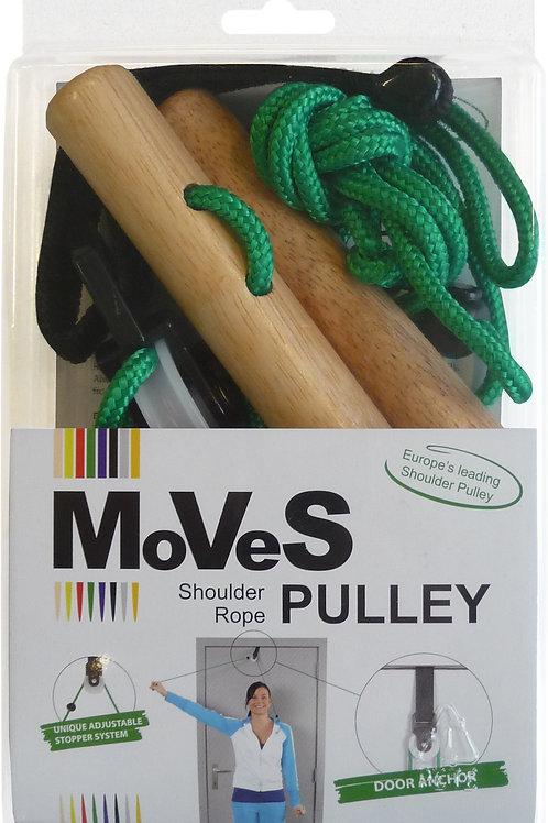 MVS-Band Shoulder Rope Pulley | Door Anchor / Wooden Handles