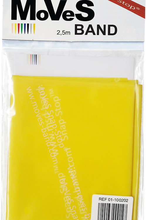 MSD-Band LATEX-FREE | 1,5m | 1 of Each Resistance (Yellow to Black)