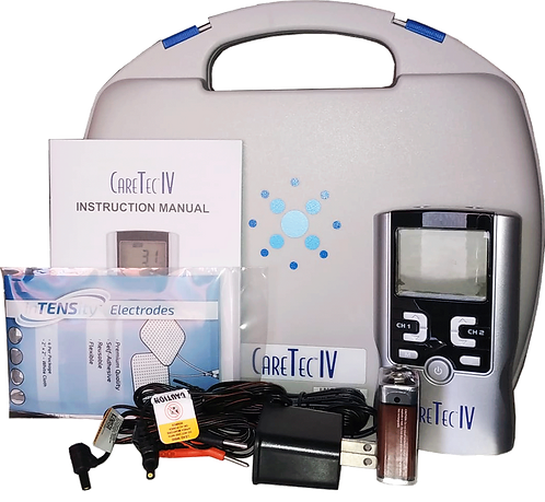 Electroestimulador Care Tec IV (IF, RUSSA, TENS, EMS)