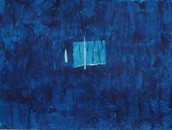 bleu sur bleu 24x32cm