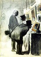 Honoré_Daumier,_Les_Amateurs_de_peinture