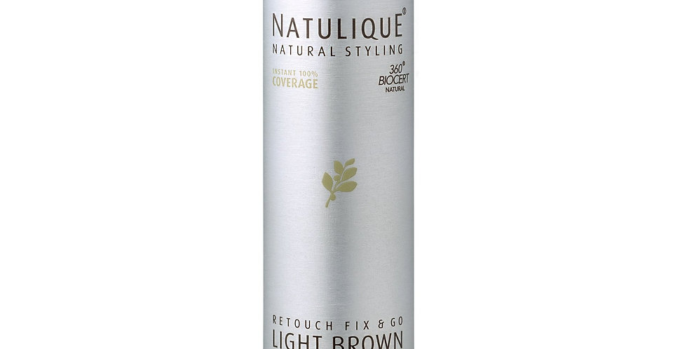 Natulique Root and Regrowth Concealer Light Brown 75ml