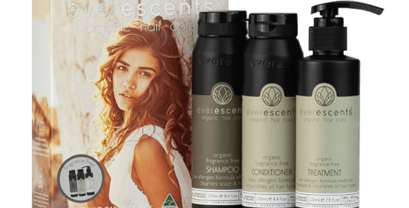 Everescents Organic Fragrance Free Gift Pack