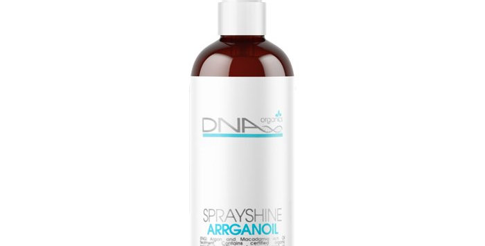 DNA Luxury Organics Spray Shine Argan Oil 125ml