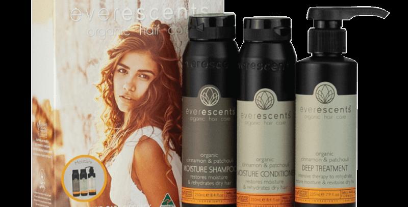 Everescents Organic Moisture Cinnamon & Patchouli Gift Pack