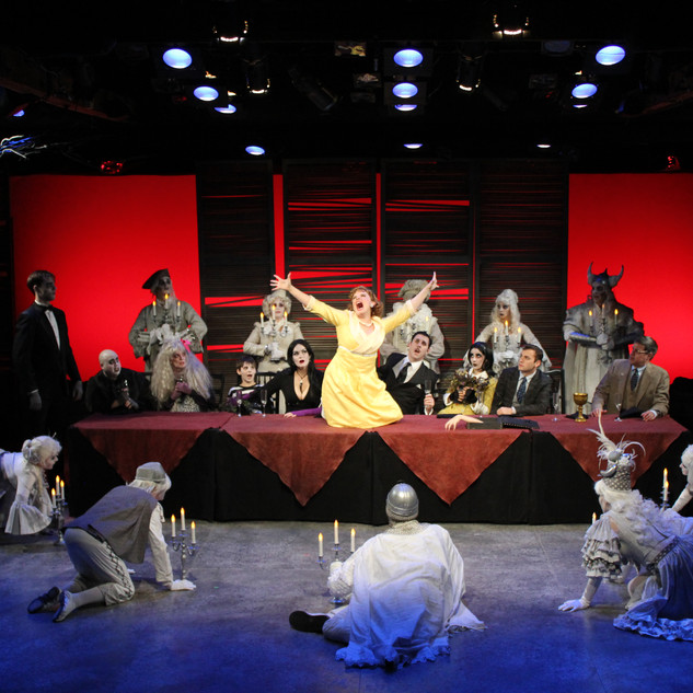 The Addams Family at Cortland Repertory Theatre
