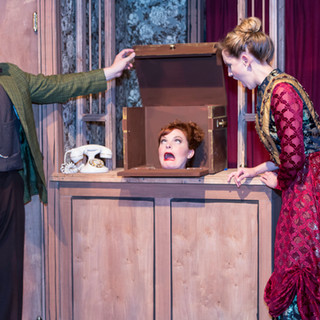 Sherlock Holmes and the Cripple Creek Ripper at Thin Air Theatre Company