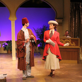 Appointment with Death at Cortland Repertory Theatre