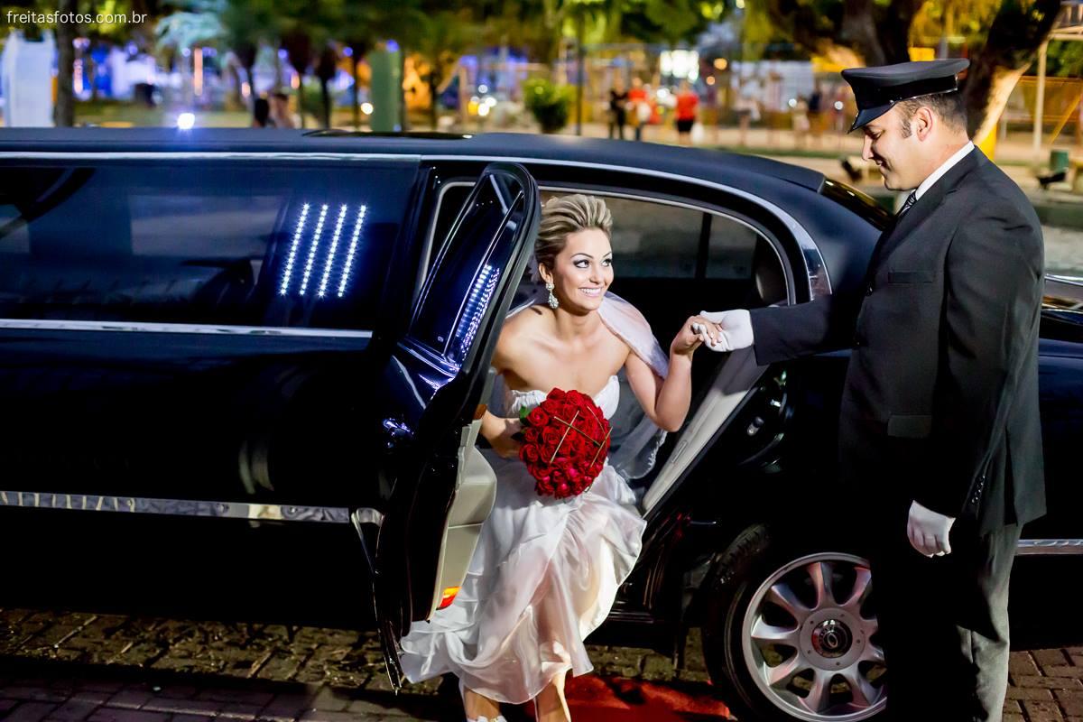 lindo casamento limousine