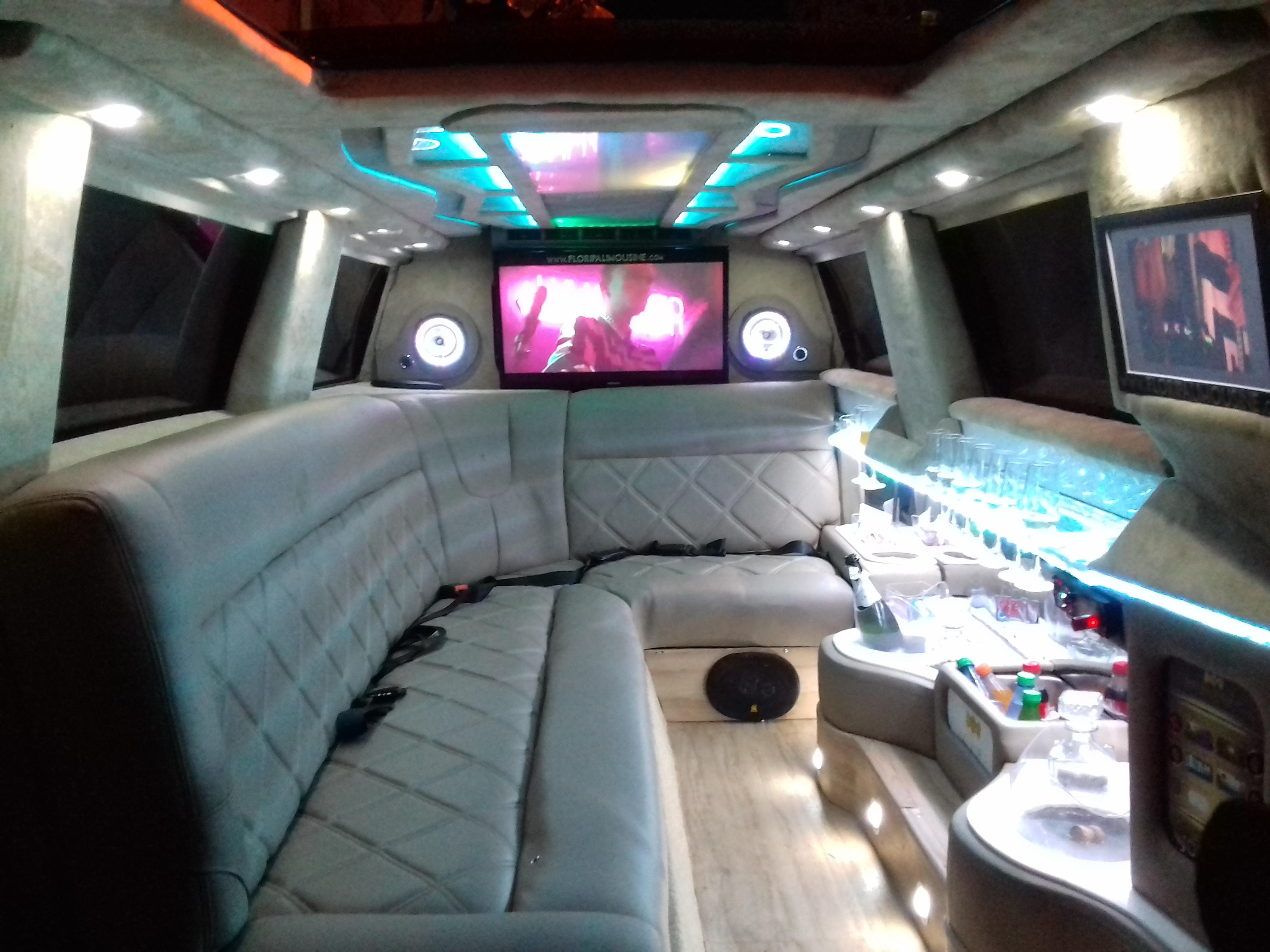 interior floripa limousine branca