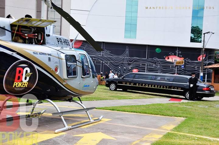 limousine helicoptero