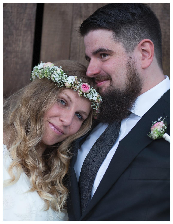 Portrait Hochzeitspaar