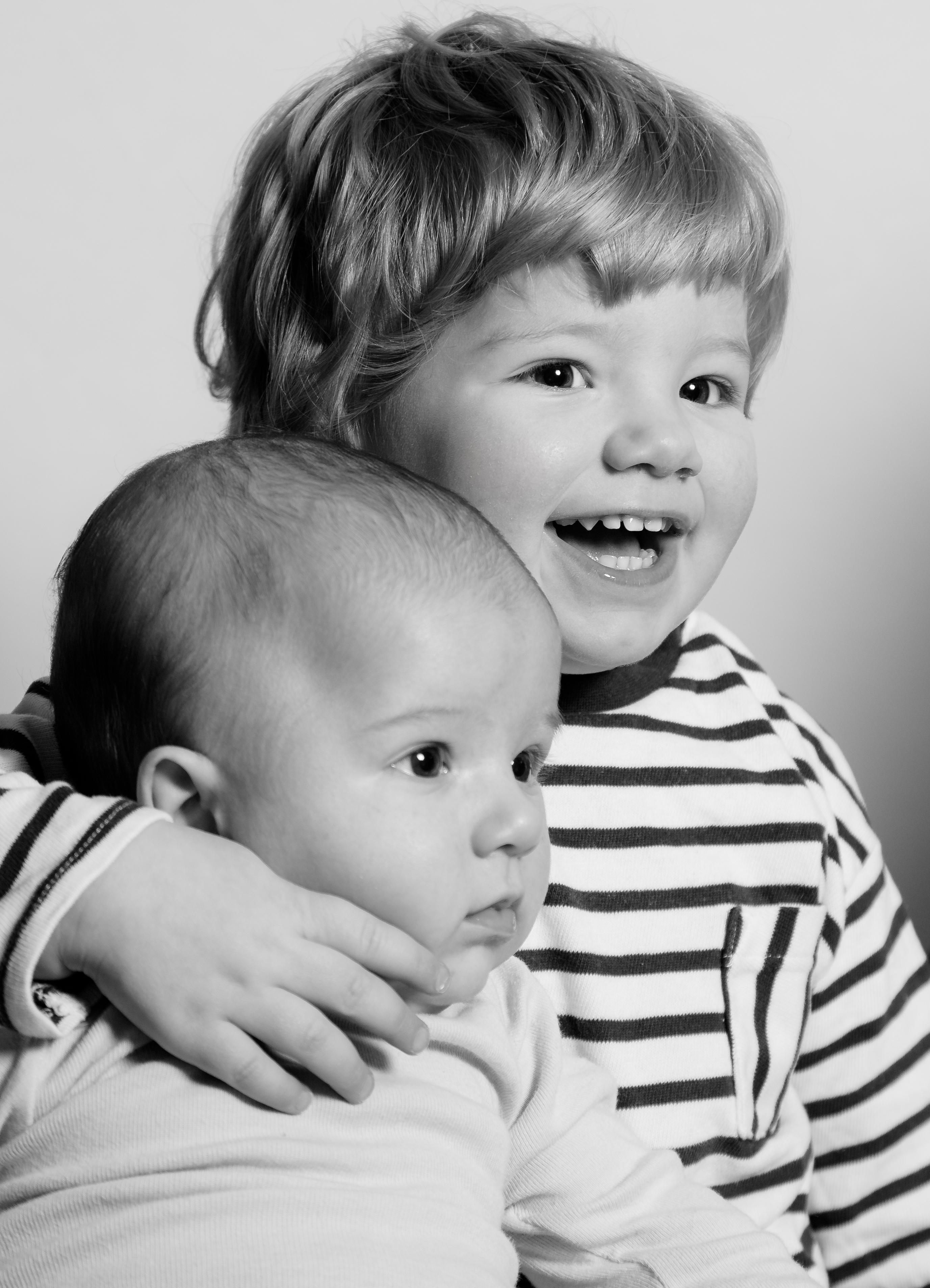 Geschwister Portrait