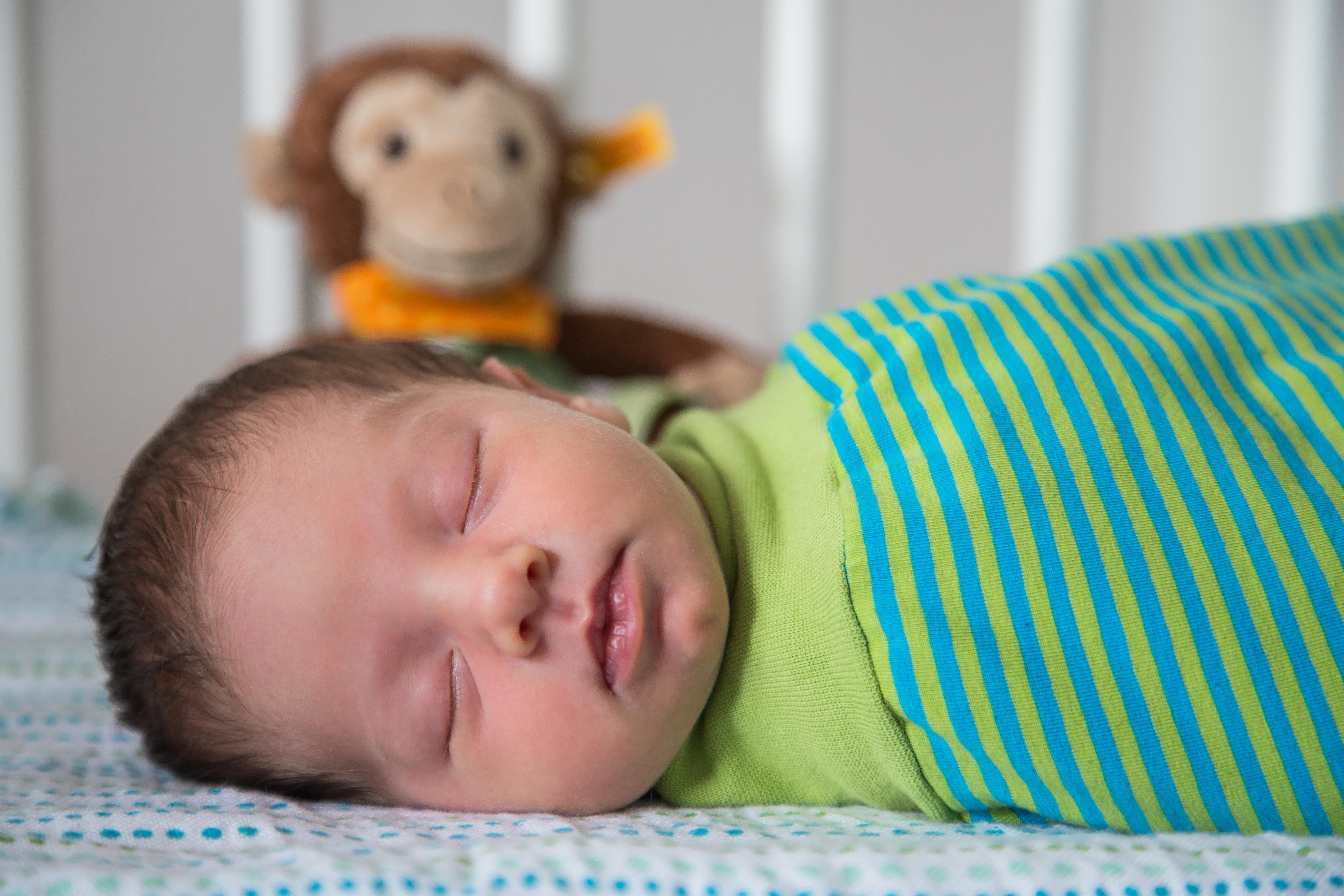 Baby schlafend