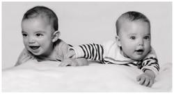 Zwillinge Portrait