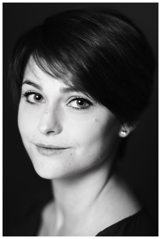 Portrait Schwarz-Weiß