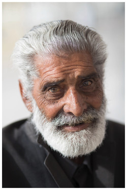 Portrait alter Mann