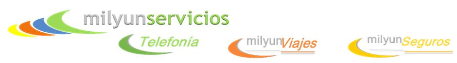 Logos Mil y Un Seguros-viajes-telefonia.