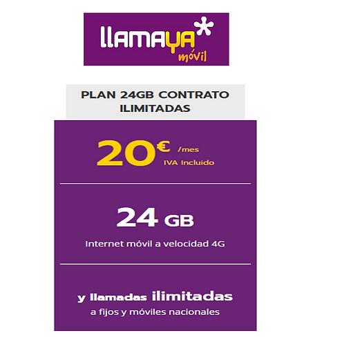 Solo linea - Ilimitada y 24 GB
