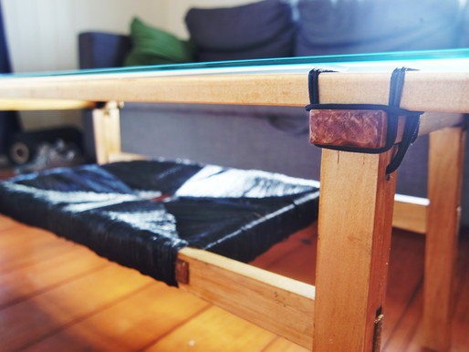 Lashed Joinery from a Mawson Sled