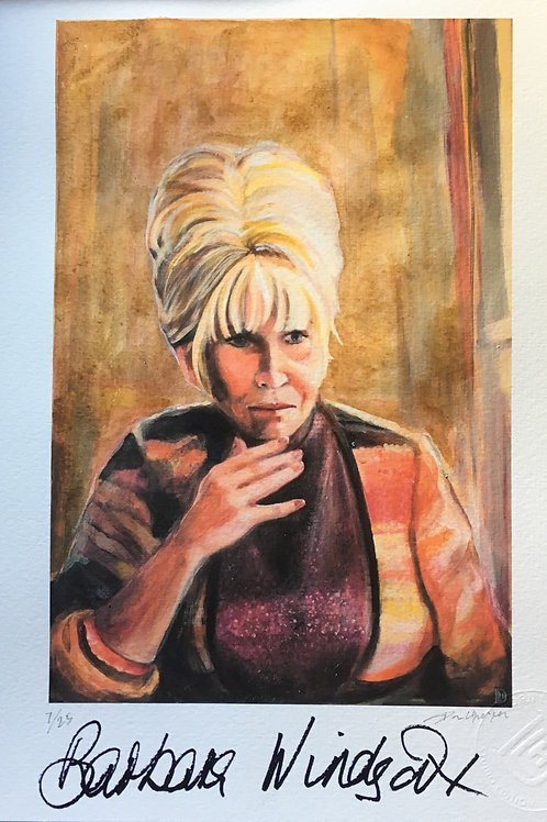 The East End Girl - Barbara Windsor (signed)