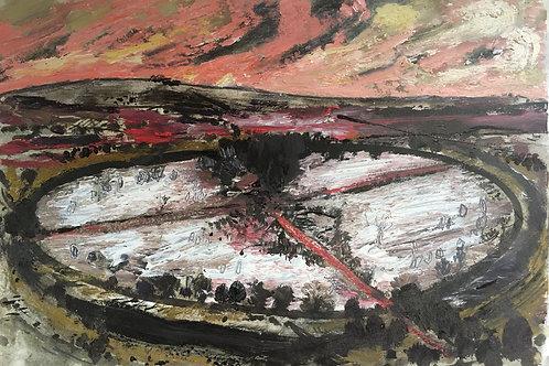 Avebury Red Twilight