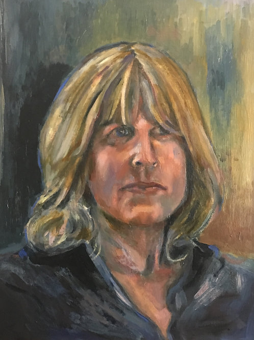 Portrait of Rachel (Lithograph print)
