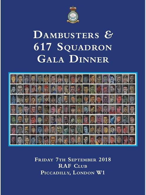 Dambusters Gala Dinner souvenir book