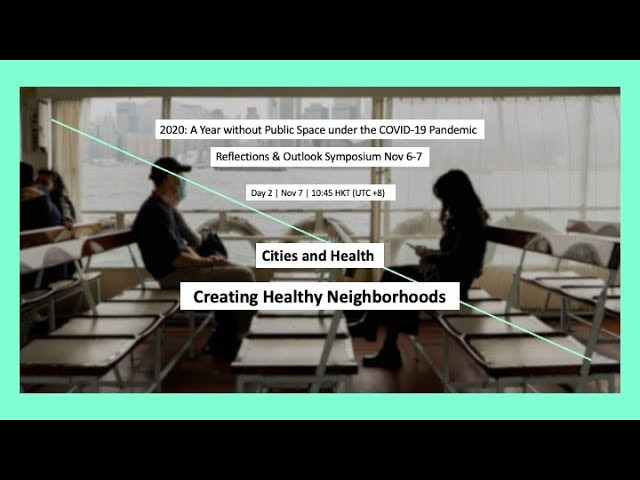 Creating Healthy Neighbourhoods