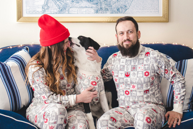 Matching Christmas Jammies