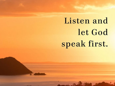 Lenten Meditation: Are You Listening?