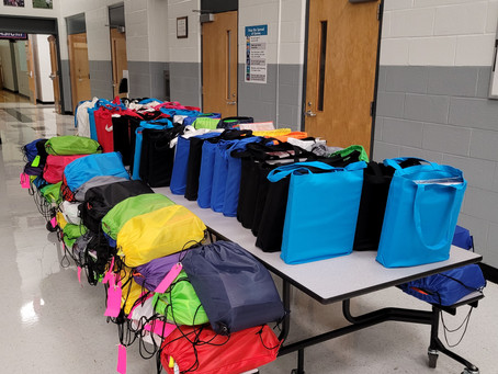 Our Donated LEMS School Supplies Have Been Delivered!