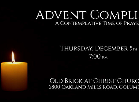 Thursday Evening Compline - Tonight