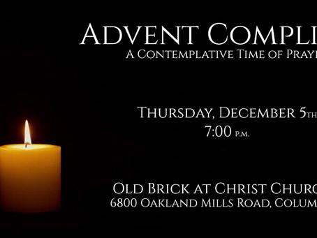 Thursday Evening Compline - Tonight