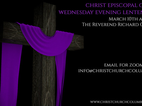 Wednesday Evening Lenten Series - Rev. Richard Ginnever