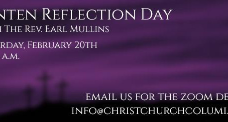 Christ Church's Lenten Reflection Day - This Saturday