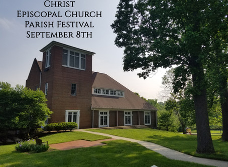The Parish Festival is Today!