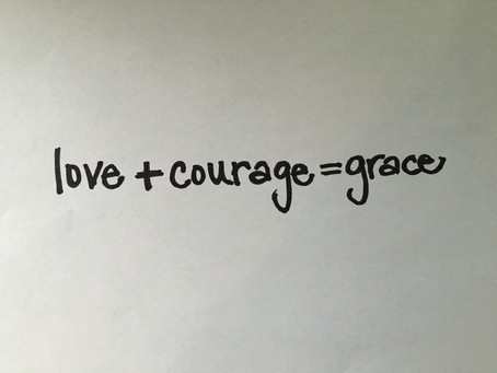Lenten Meditation: Love... What Does Courage Have to Do With It?
