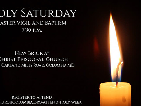 Holy Saturday at Christ Church